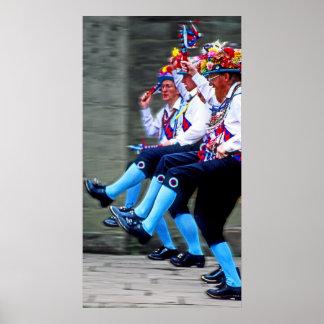 Baile de Morris, Inglaterra (1) Poster