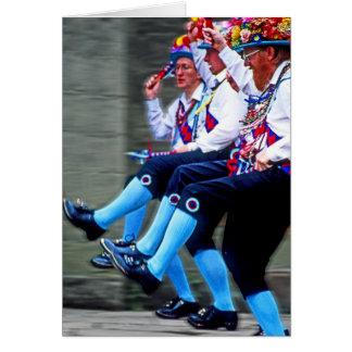 Baile de Morris, Inglaterra (1) Felicitacion