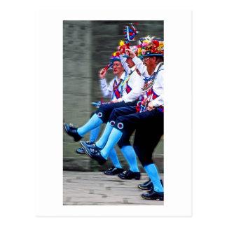 Baile de Morris, Inglaterra (1) Postales