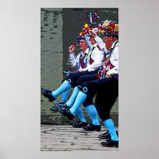 Baile de Morris, Inglaterra (2) Poster