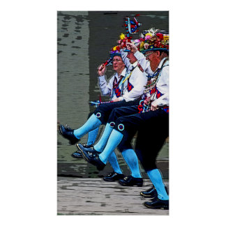 Baile de Morris, Inglaterra (2) Póster