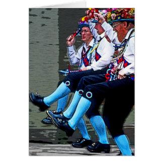 Baile de Morris, Inglaterra (2) Felicitacion