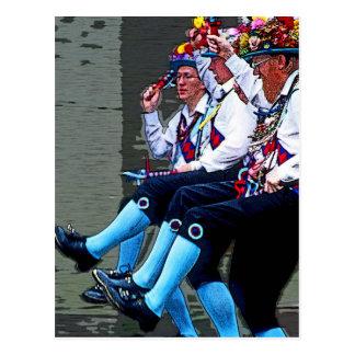 Baile de Morris, Inglaterra (2) Postales