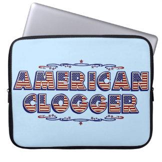 Baile de obstrucción americano de Clogger de la Funda Portátil