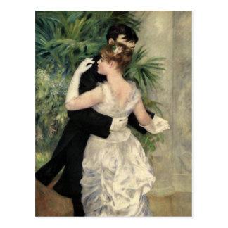 Baile de Renoir en la postal de la ciudad