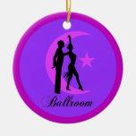 Baile de salón de baile adorno de navidad
