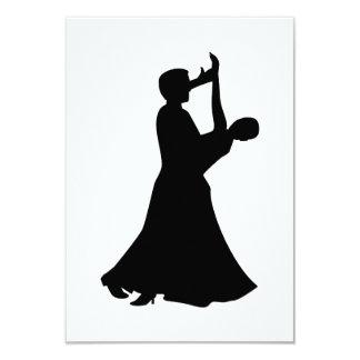 Baile de salón de baile invitación personalizada