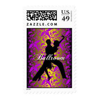 Baile de salón de baile sellos postales
