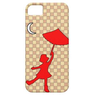 Baile del chica con su paraguas iPhone 5 funda