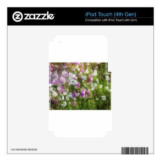 Baile del cosmos en los regalos del viento iPod touch 4G skin
