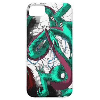 Baile del dragón con tinta iPhone 5 carcasas