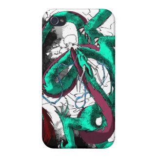 Baile del dragón con tinta iPhone 4 coberturas