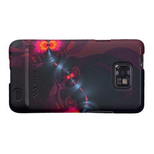 Baile Devas - vista de la violeta y de los salmone Samsung Galaxy SII Carcasas