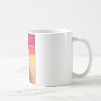 Baile en el agua taza de café