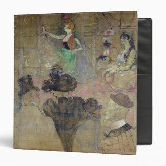 """Baile en el colorete: La Goulue, 1895 Carpeta 1 1/2"""""""