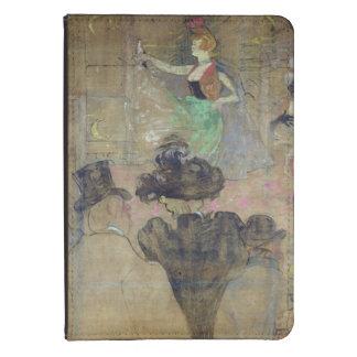 Baile en el colorete: La Goulue, 1895 Funda De Kindle 4
