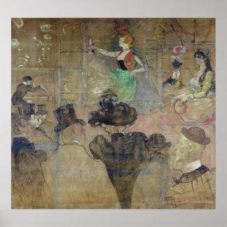Baile en el colorete: La Goulue, 1895 Impresiones