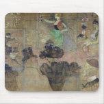 Baile en el colorete: La Goulue, 1895 Alfombrillas De Raton