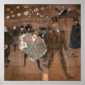 Baile en el colorete poster