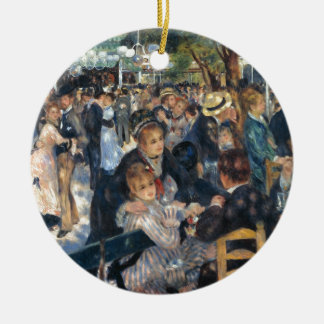 Baile en el la Galette de Le Moulin de por Renoir Adorno De Reyes