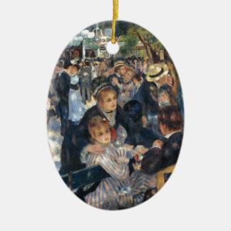Baile en el la Galette de Le Moulin de por Renoir Adornos De Navidad