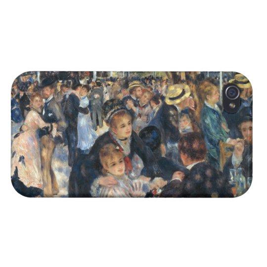 Baile en el la Galette de Le Moulin de por Renoir iPhone 4/4S Carcasas