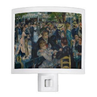 Baile en el la Galette de Le Moulin de por Renoir Luces De Noche