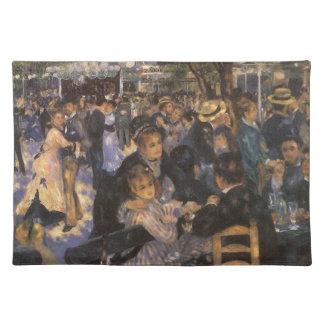 Baile en el la Galette de Le Moulin de por Renoir Manteles