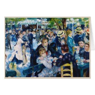 Baile en el Moulin de la Galette Auguste Renoir Felicitaciones