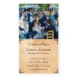 Baile en el Moulin de la Galette Auguste Renoir Tarjetas De Visita