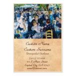 Baile en el Moulin de la Galette Auguste Renoir Tarjetas De Visita Grandes