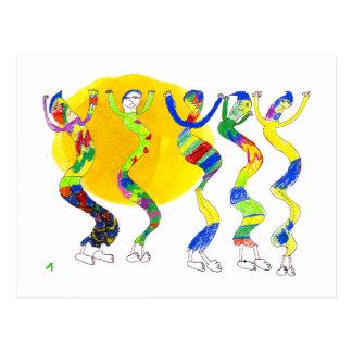 Baile en el Sun 5 Postal