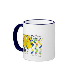 Baile en el Sun 5 Taza De Café