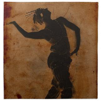Baile en griego servilleta de papel