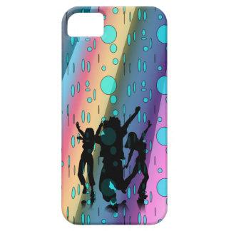 Baile en la lluvia iPhone 5 Case-Mate funda