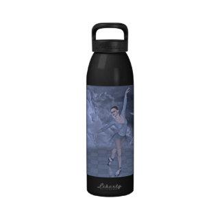 baile en las nubes botella de agua reutilizable