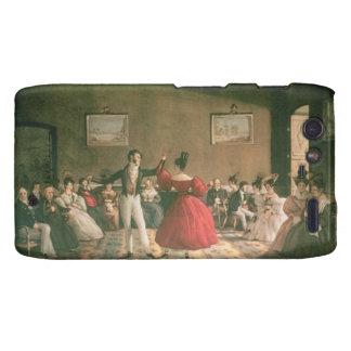 Baile en un salón en Buenos Aires, c.1831 (w/c en  Motorola Droid RAZR Carcasas