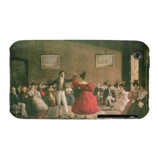 Baile en un salón en Buenos Aires, c.1831 (w/c en iPhone 3 Case-Mate Coberturas