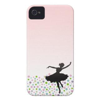 Baile entre las estrellas - rosa del bailarín de iPhone 4 funda