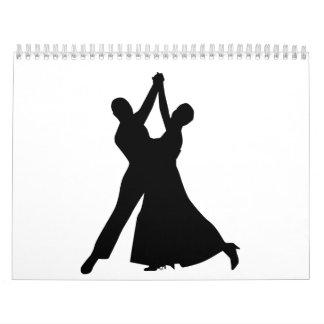 Baile estándar calendarios de pared