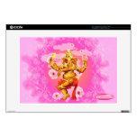 Baile Ganesha piel del ordenador portátil de 15 pu 38,1cm Portátil Calcomanías