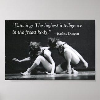 Baile: La inteligencia más alta Póster