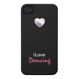 Baile lindo iPhone 4 Case-Mate protectores