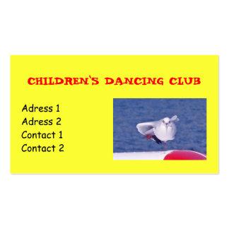 Baile-negocio-tarjeta Tarjetas De Visita