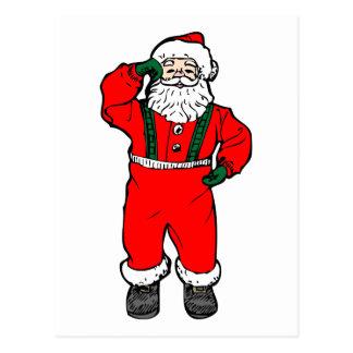 Baile Papá Noel Postal
