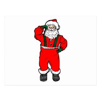 Baile Papá Noel Tarjetas Postales
