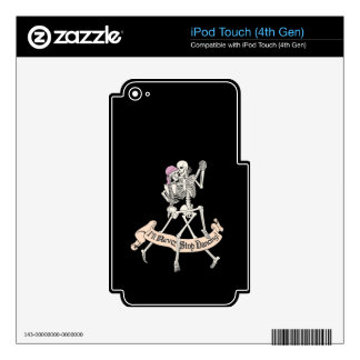 Baile para siempre iPod touch 4G calcomanía