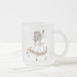 Baile para siempre taza de cristal