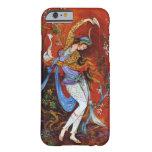 Baile persa de la mujer con el pájaro y el vino funda de iPhone 6 slim