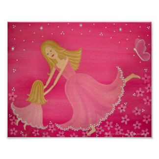 Baile por crepúsculo - la hija de la madre embroma poster